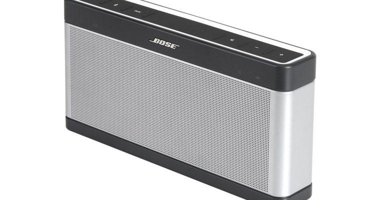 Écouter de la musique via une enceinte Bluetooth Bose