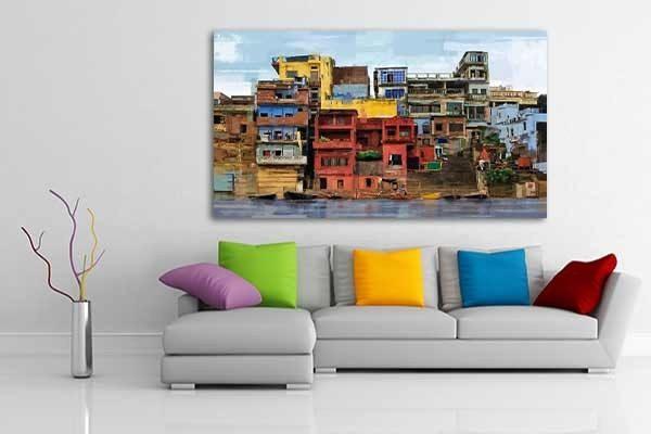 Chez Izoa, les tableaux sont disponibles en différents coloris